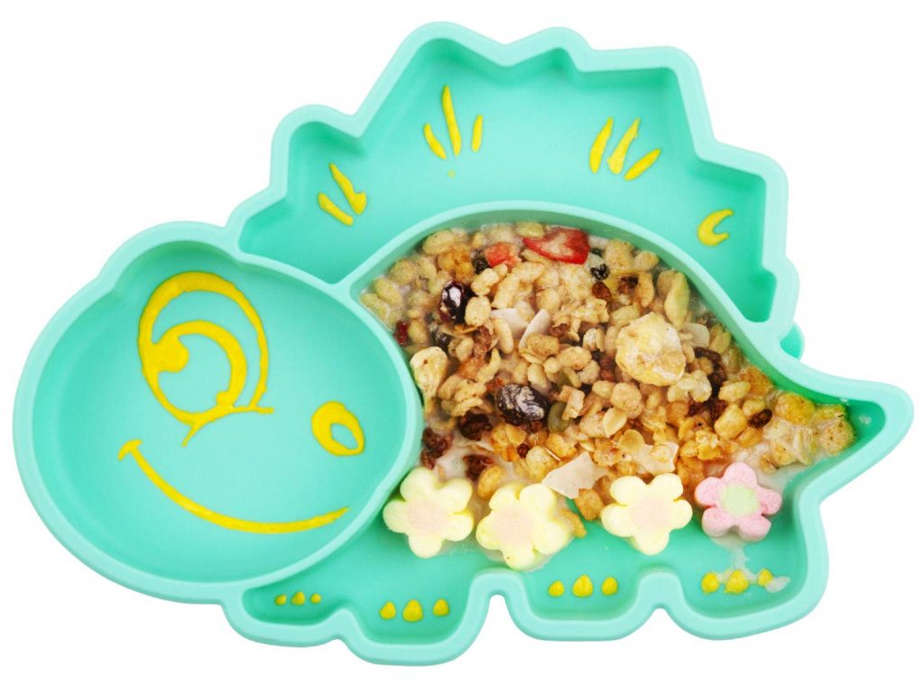 Best Silicone Suction Baby Plates that stick to table
