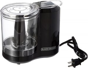 Black and decker electric food chopper