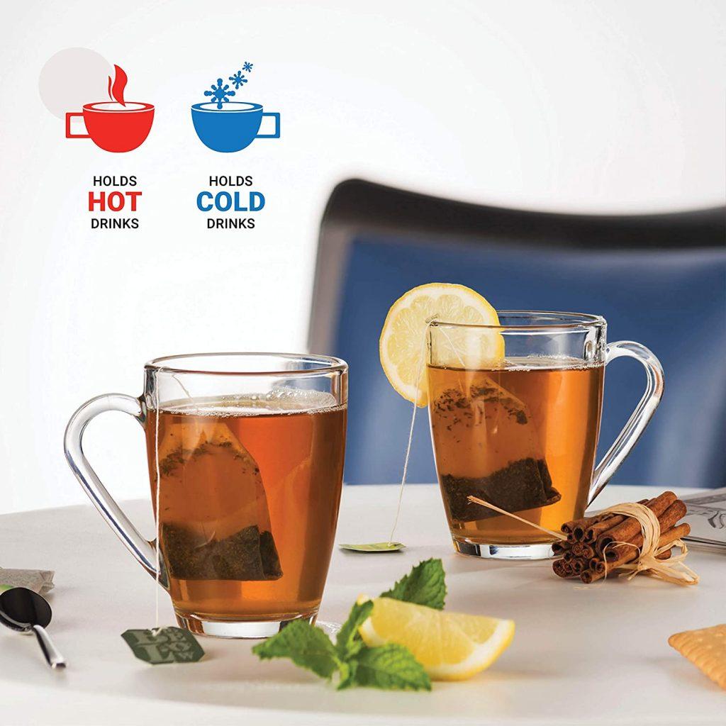 Bormioli Rocco mug for hot and cold drink