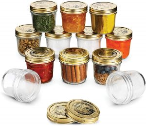 Bormioli stagioni wide mouth manson jars