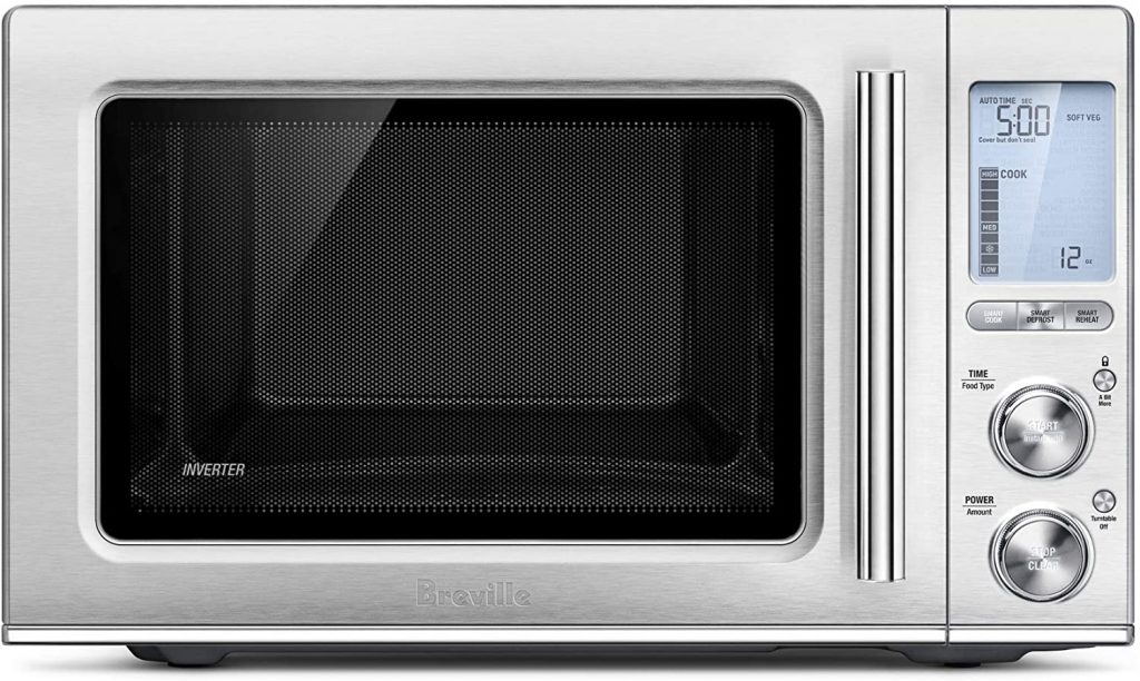 Breville Brand Smooth Wave Countertop Microwave Oven