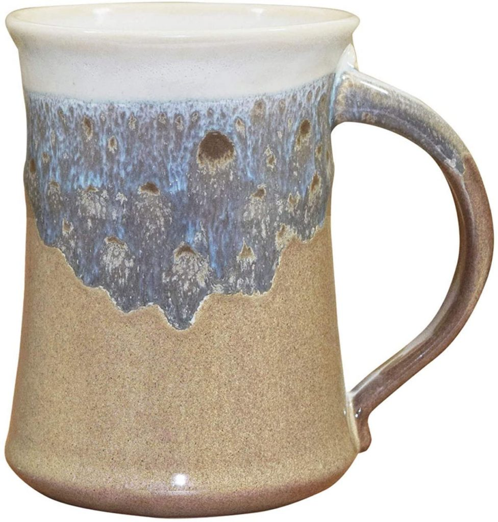 Clay in motion large mug
