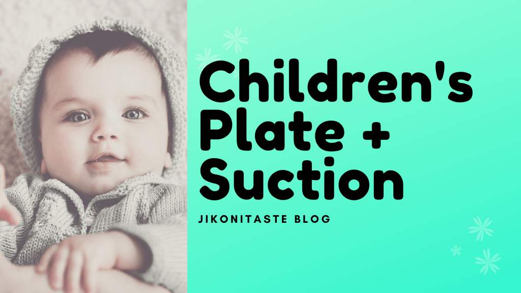 Kid plate + suction diagram