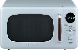 Best brand of under $100 Microwave Oven - Daewoo Retro Small Office Countertop Microwave Oven