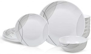 Danmers 18 Piece Dinnerware set for daily use