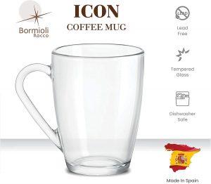 Description of Bormioli Rocco Lead free Mug
