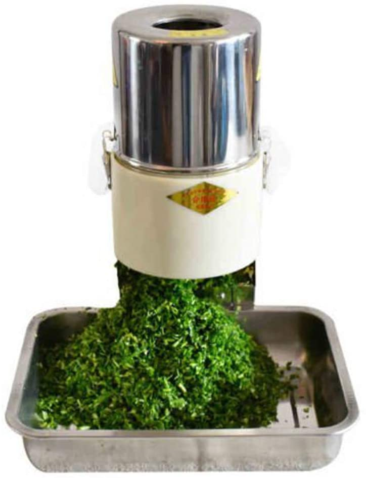 Electric vegetable food and herb commercial herb chopper