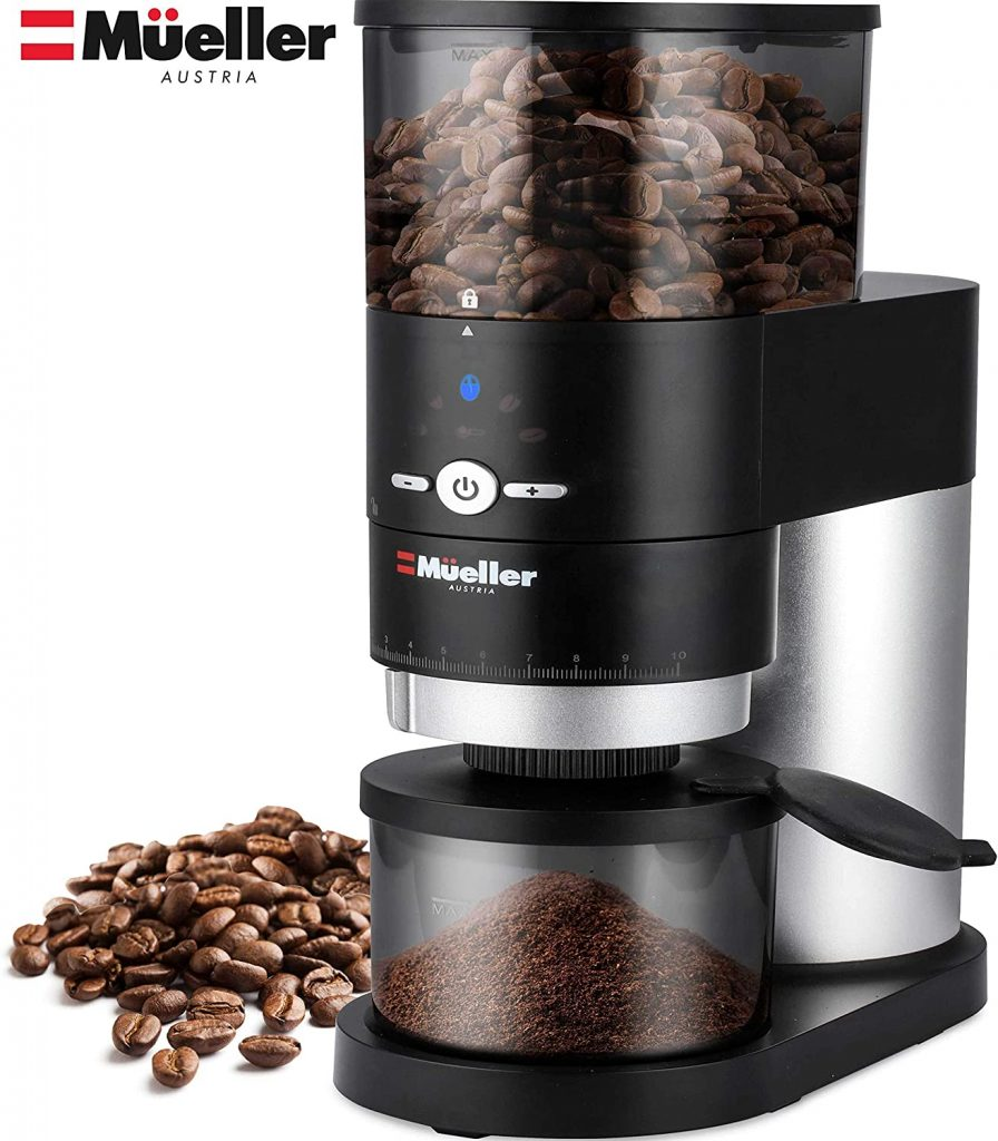 Grinder for coffee beans