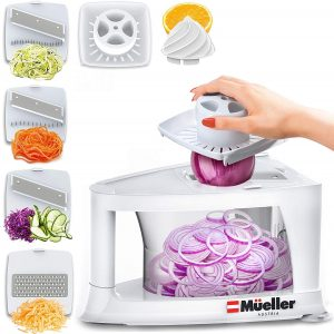 Mueller spiral slicer and Zucchini chopper