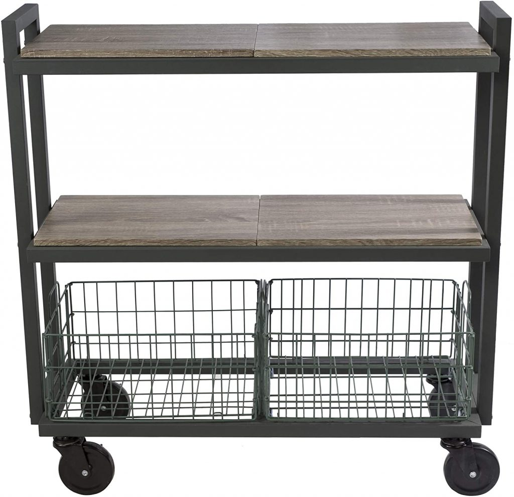 Outdoor grill Storage Cart