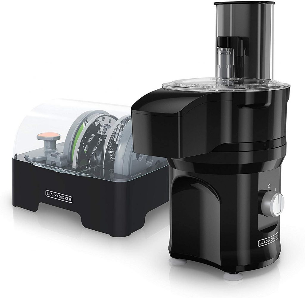 Slice and dice by Black and decker food processor