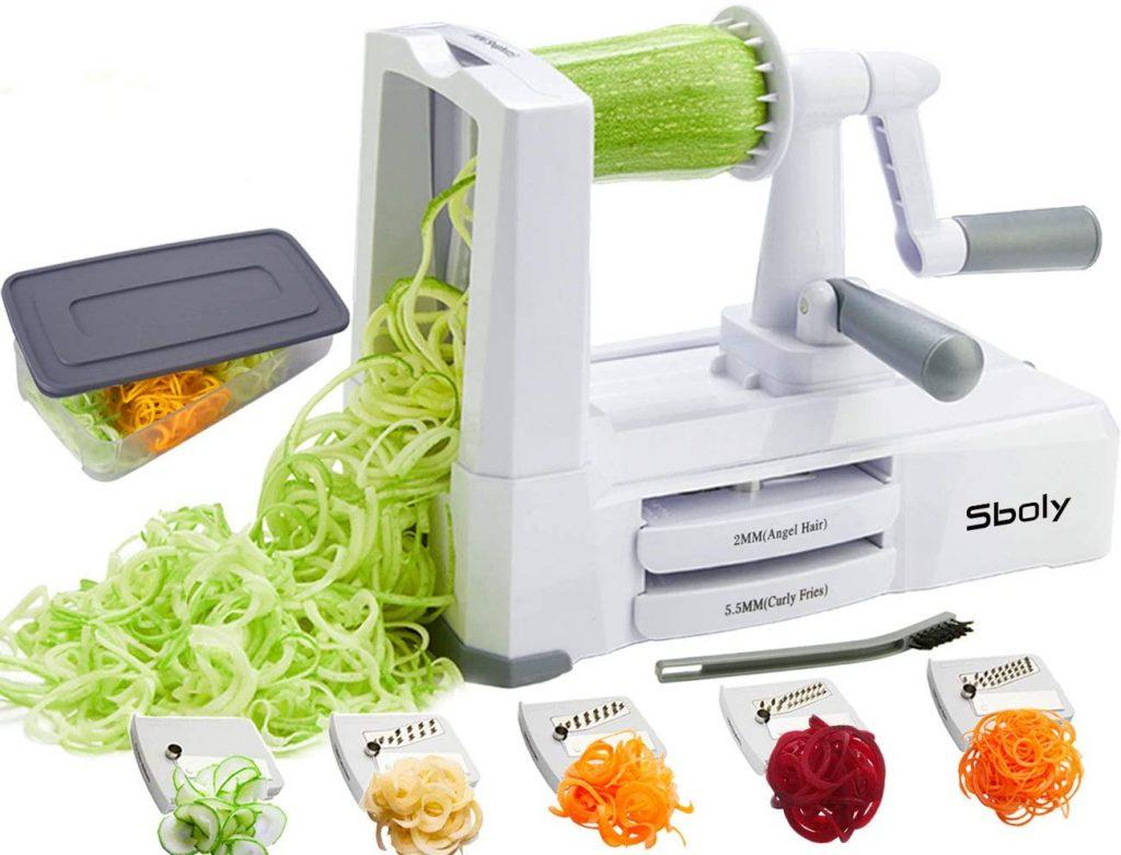 strongest vegetable zucchini spaghetti maker appliance