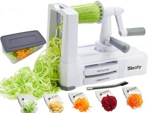 strongest vegetable zucchini spaghetti maker appliance