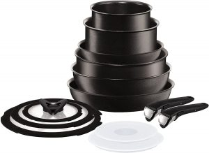T-fal ingenio 13 Piece cookware induction set with detachable handles