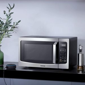 Best Microwave 2020 - Toshiba Smart Microwave Oven that works with Alexa