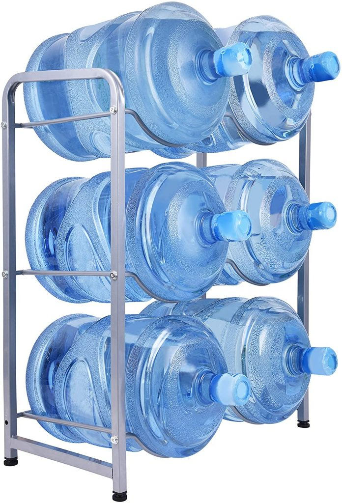 Ationgle Gallon Water Cooler and Jug Rack