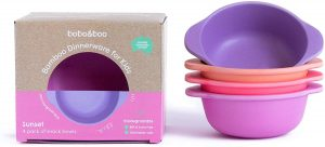 Best Baby Bowls - Bamboo Kids Snack Bowls