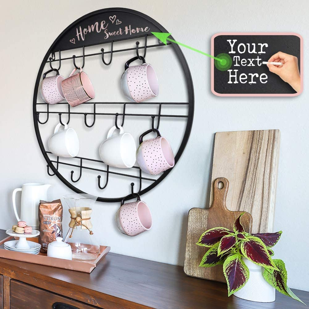 Coffee Mug Rack Large Organizers and Storage Mug Holder