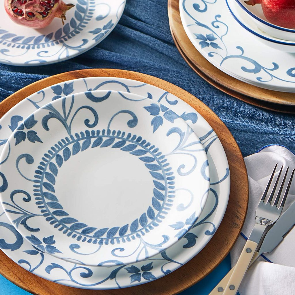 Corelle dinnerware sets Vitrelle and chip resistant
