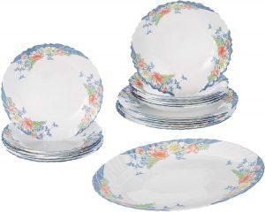 Dajar Florine Arcopal Dinnerware set