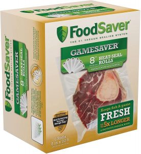 Foodsaver vacuum oven safe Bags