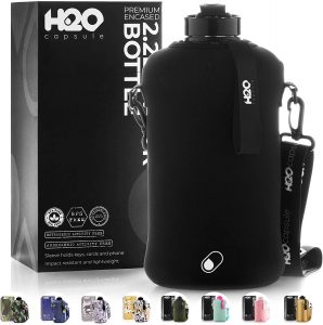 H20 half gallon BPA free water bottle