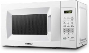 Tiny house Comfee Countertop Microwave Oven