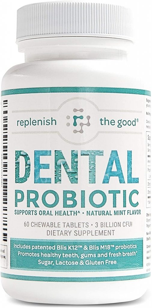 Dental Probiotic Tablets for bad breath treatment