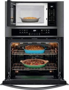 Frigidaire electric oven and microwave combo