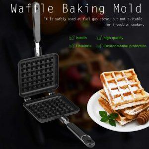 Kitchen gas non-stick waffle maker