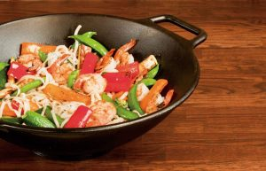 Lodge Flat Base Wok for all Stovetops