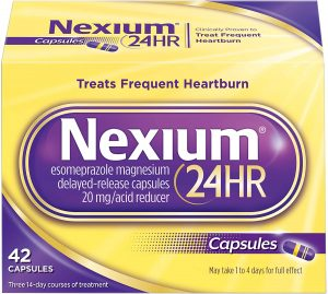 Nexium best fast relief for heartburn -Treats frequent heartburn