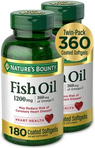 Omega 3 fish Oil for healthy leaving
