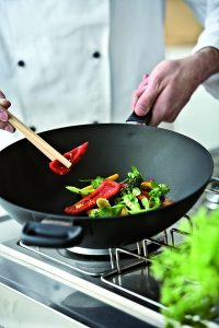 Overall Best Wok for Electric Stove - ScanPan Cookware Wok 12.5 inch