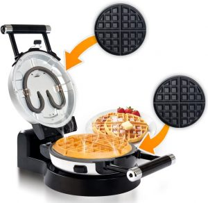 Secura Belgian Waffle Maker with Removable Plates