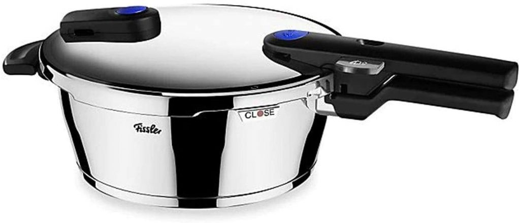 Stainless Steel Pressure cooker with Induction Base