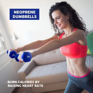 Dumbbells for fitness and building of muscles and weight loss
