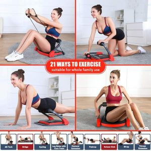 home gym equipment for 21 days or 3 weeks flat stomach and whole body