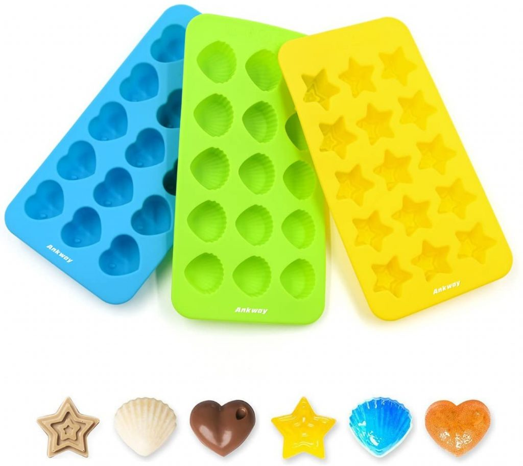 can silicone candy molds go in the dishwasher? -