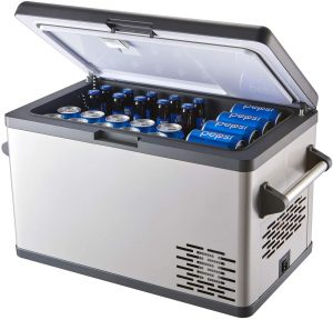 Aspenora best compressor fridge for campervan, RV truck camping and outdoor driving