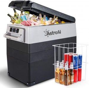 Astroa 12V refrigerator for rv, car, truck, van and camping