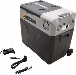 Massimo Portable Electric 12V best fridge cooler for van life, boat, picnic and camping