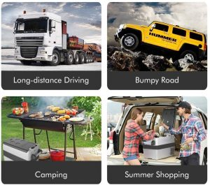 SetPower Car fridge for every occasions and for van life