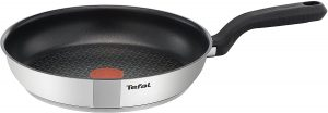 30cm Tefal Stainless Steel Induction frying Pan for all stove tops