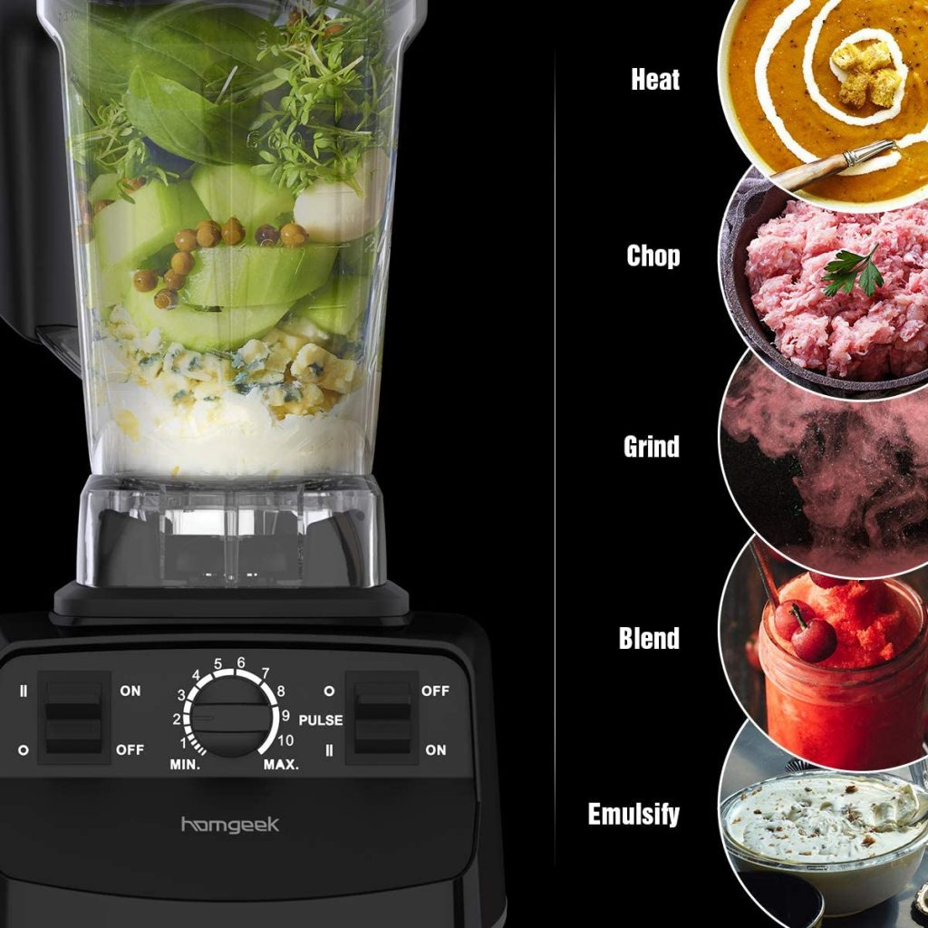 homegeek blender for pureeing food for Dysphagia patients