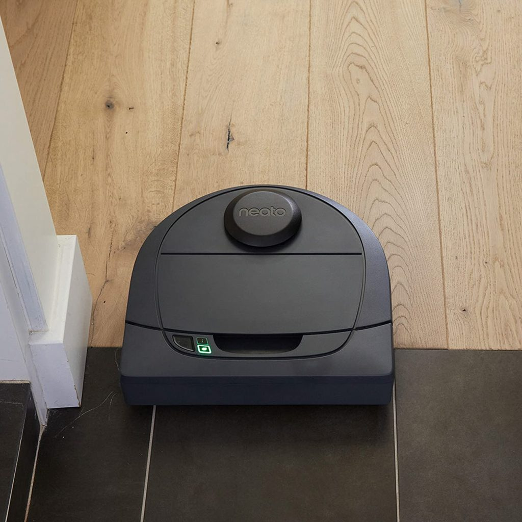 Neato Botvac D3 Connected Laser Guided Robot Vacuum, Works with Smartphones, Alexa for hardwood floors