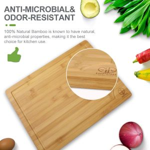 Branded bamboo personalized cutting board