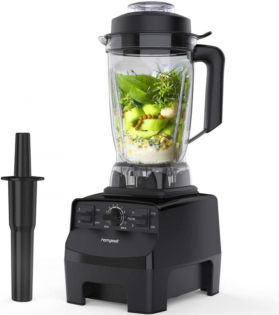 How to puree food using a Blender - homegeek countertop blender for smoothies
