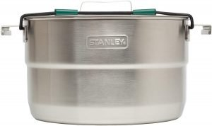 camping pan for open fire cooking