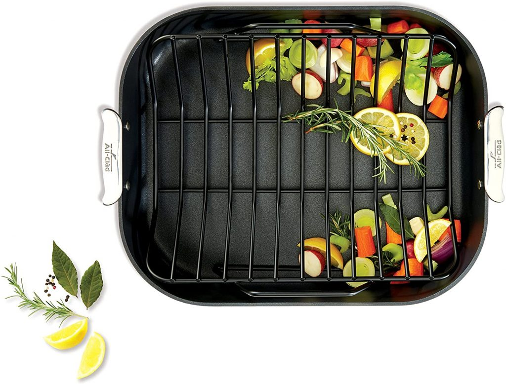 Best All clad nonstick roasting pan for prime rib